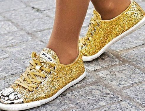 casual bling bling shoes-f25618
