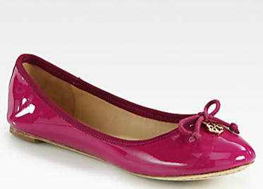Tory Burch - Chelsea Patent Leather Ballet Flats